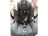 Baby toddler car seat Joie-i-gemm. Birth to 13kg.