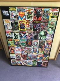 DC Large Poster Canvas (B+Q)