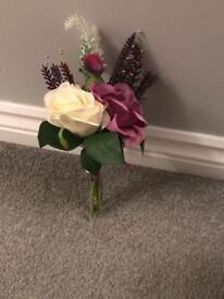 Small artificial bouquets