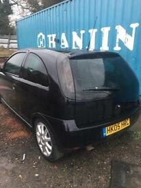 2005 Vauxhal Corsa Exclusive