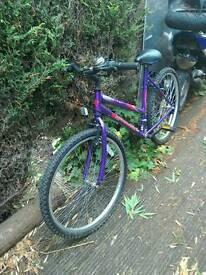 Bicycle ladies mountain bike