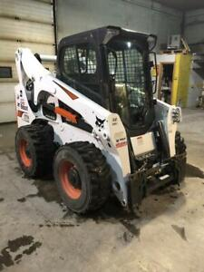 A770 Bobcat All Wheel skidsteer 2018 like brand new with only 220hrs has warranty left till June 2020