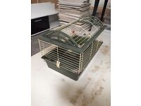 Large Indoor Guinea Pig Rabbit Cage Hutch