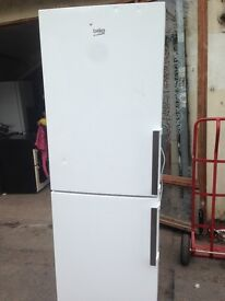 Beko fridge freezer 50/50..Mint free delivery