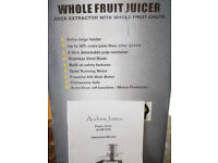 Andrew James whole friut juicer not used