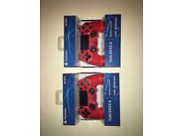 2 for £62 RED PS4 CONTROLLER