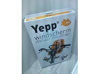 YEPP Windscreen ( for use with YEPP Mini child's bike seat and YEPP Mini stem or slim fit adaptor)