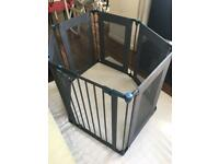 Lindam Playpen metal and fabric