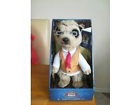 Yakov meercat plush toy