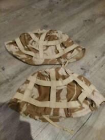 British army Mk6 ? GULF war camouflage helmet cover