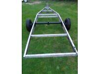 Aluminium lightweight trailer Base