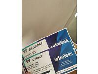 Wireless Festival Tickets x2