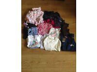 girls clothes bundle aged 7-9