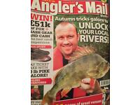 Assorted Anglers Mail mags