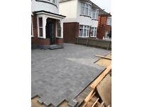 Bradstone stonemaster block paving mid grey