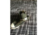 Green converse all stars size 9