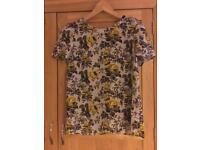 Oasis floral print top