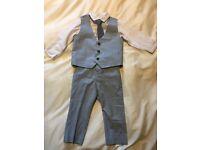 Baby boys Linen suit