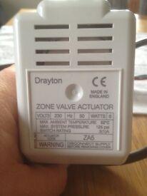 Central heating actuator 3 port valve