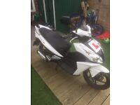 HONDA NSC 50cc 2014 only 982 miles