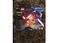 * BRAND NEW PS4 SLIM 500GB + STAR WARS GAME + DVD + 12 MONTHS WARRANTY ( Delivery Available )