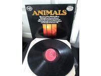 animals vynal album