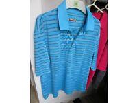 Set of 3 Kirkland Men's Polo Shirts - size 'L' excellent condition