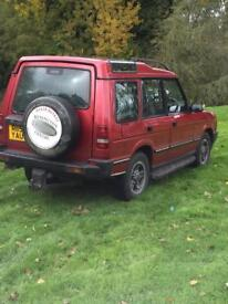 Land Rover discovery auto leather