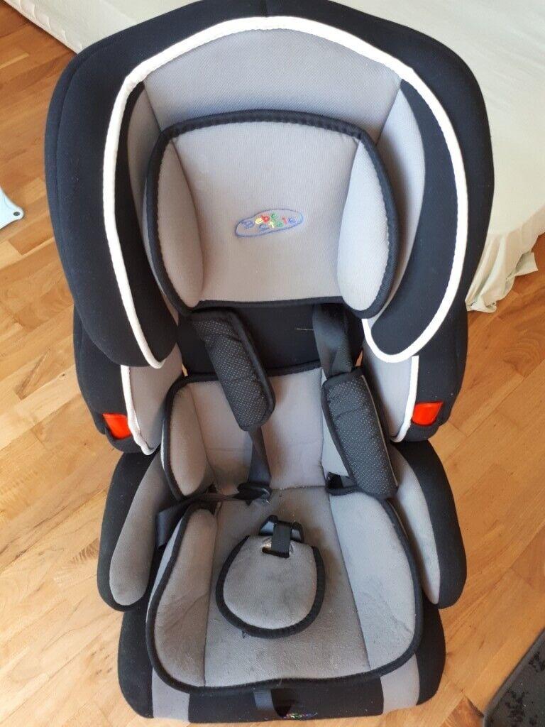 90967084c04c 2 Car Seats -Bebe Style and Bebe Hut Convertible 1/2/3 Combination Car & Booster  Seats - Blue & Grey