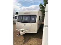 Bailey senator oklahoma 2007 4 berth fixed bed with awning
