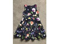 M+S 'Autograph' Girl's Floral Dress & Jumpsuit 8-9yr