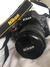 Nikon D3300 + 18-55mm Nikon lens with FREE camera bag