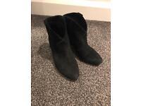 Ash jalouse ankle boots size 4