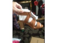 2 pairs of river island sandals brand new with tags on £15 a pair