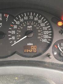 Vauxhall corsa 34k miles motd oct
