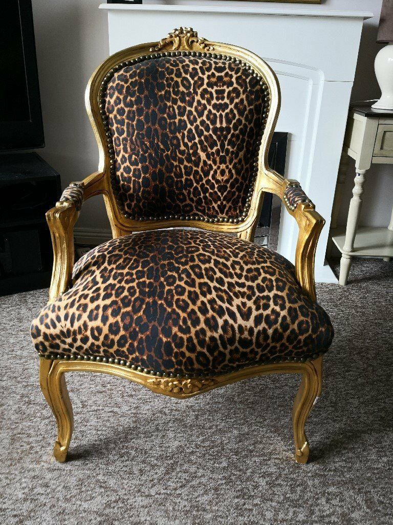 Louis Xv Reproduction Armchair Chair In Gold 65