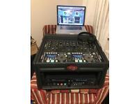 Denon DN HC-4500 Playout system. Mixer/ Controller/Case