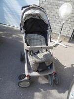 Evenflow Stroller (with Car Seat Attachment)