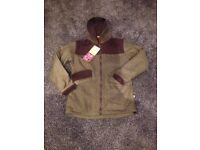 Ladies brand new tweed hooded outdoor waterproof jacket