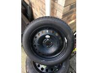Michelin energy tyre 205/55/16 new on steel wheel