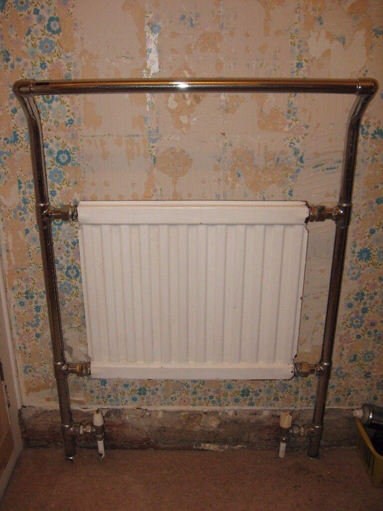 Vintage Myson bathroom radiator & towel rail