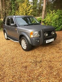 Land Rover Discovery 3 SE Auto 2008 Stornoway Grey. Diesel. One owner from new. Yearly serviced.