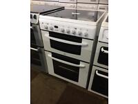 INDESIT ELECTRIC COOKER WITH GENUINE GUARANTEE