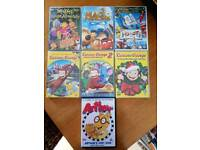 KID'S DVD'S FOR THE UNDER FIVES