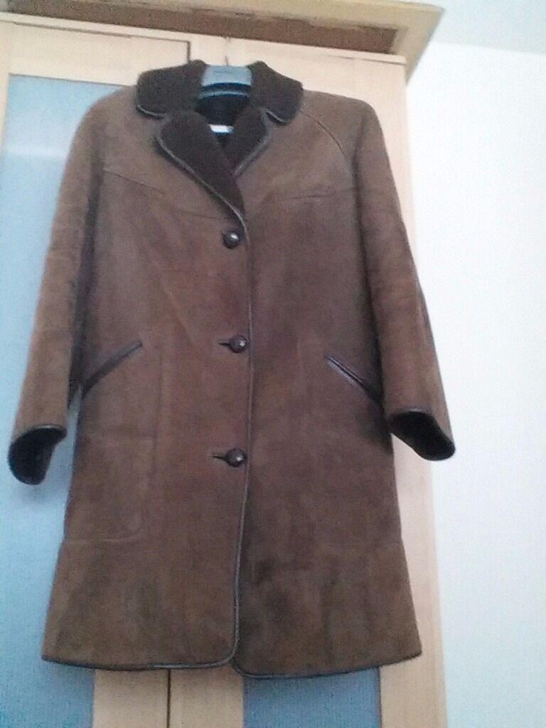 Ladies Oakleaf sheepskin coat | in Beeston Nottinghamshire | Gumtree