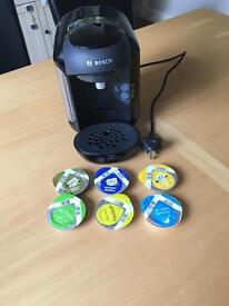 Tassimo Bosch with pods
