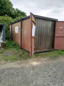 20 x 8 work shop shipping container
