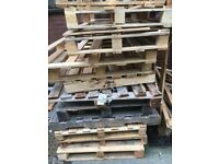 Pallets and scrap wood