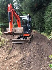 Mini digger & Plant Hire in Surrey, Berkshire,& London ( with or with out operator)