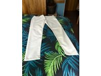 Never worn Cream jeans size 16R